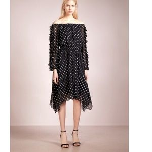 Club Monaco Polka Dot Dress size XS